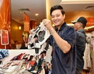 Quang Vinh, Mạc Trung Kiên mua sắm tại Private Sale của DAFC