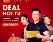 Nhận loạt ưu đãi lớn tháng 11 từ California Fitness & Yoga cùng Shopee