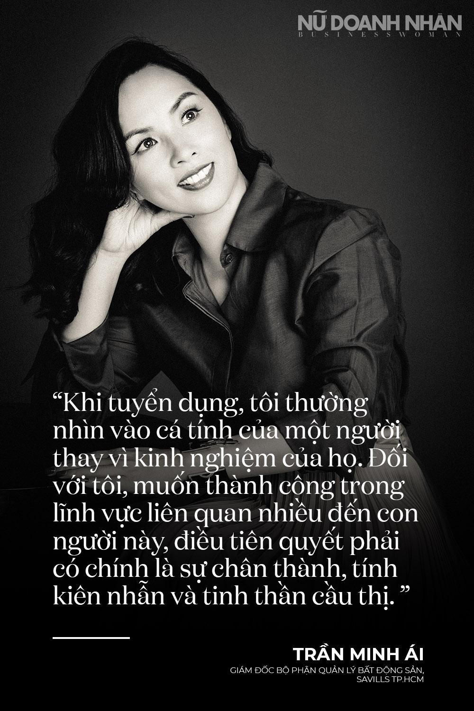 Phỏng vấn giám đốc Savills nữ doanh nhân Trần Minh Ái