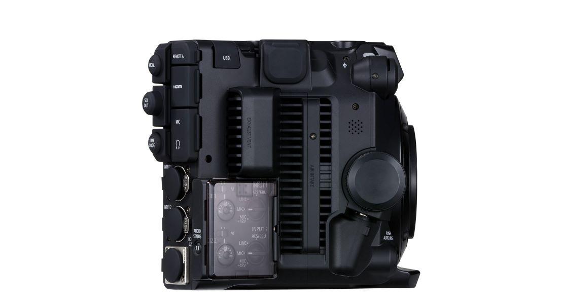 may quay canon EOS C300
