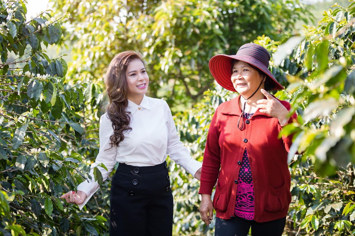 trung nguyên international hỗ trợ phụ nữ khởi nghiệp