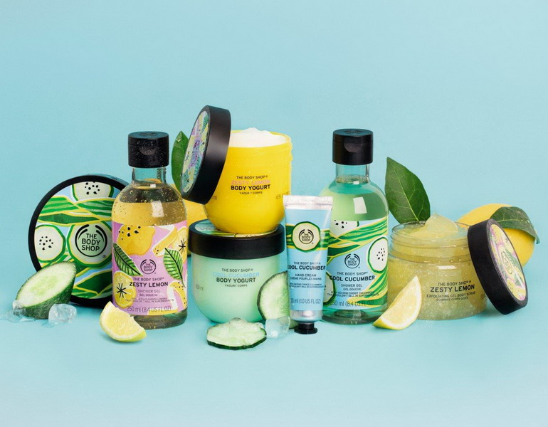 bst cham soc co the The Body Shop