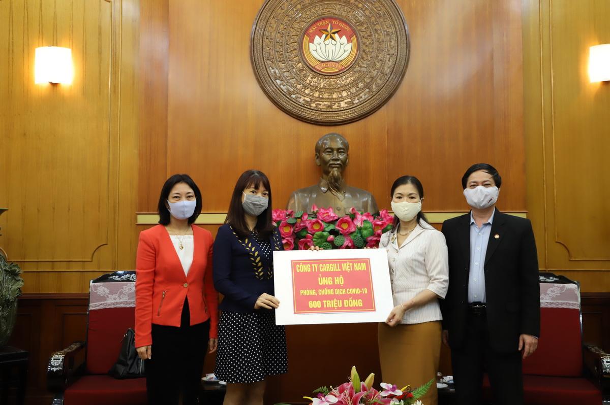 cargill việt nam ủng hộ chính phủ phòng chống dịch covid-19