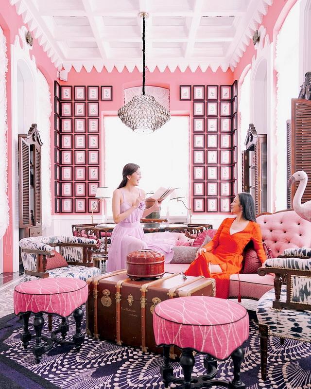 nhà hàng ẩm thực Pháp Pink pearl
