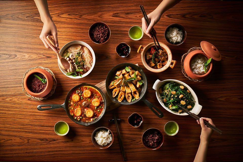 nha hang chay Be An Vegetarian Nguyen Hue