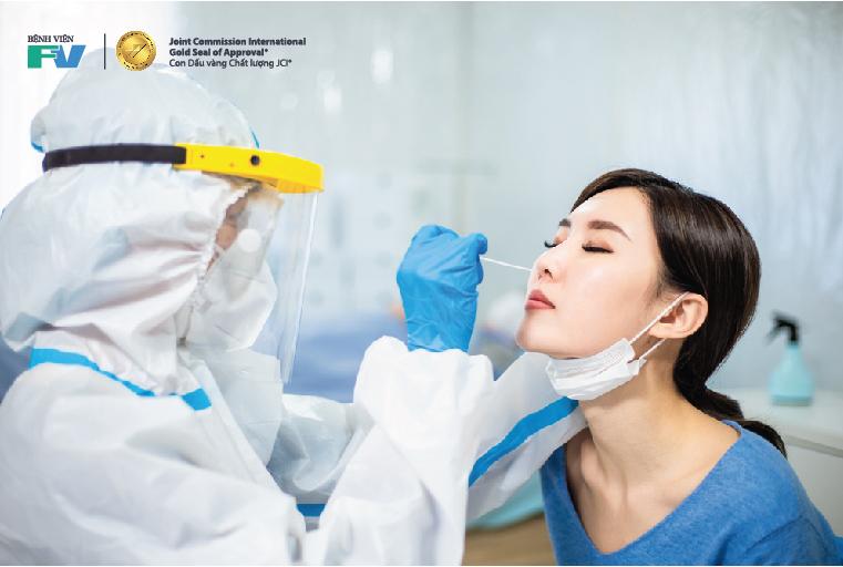 Bệnh viện Fv xét nghiệm covid-19