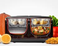 """""""Yêu bếp"""" với nồi đôi đa năng giúp chế biến mọi món ăn dễ dàng hơn"""