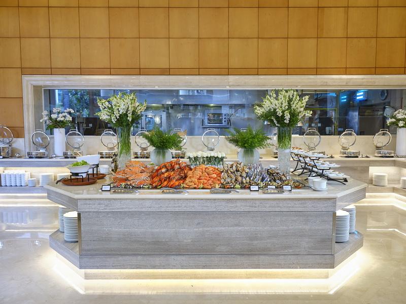 nhà hàng buffet Atrium Café