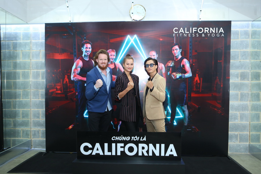 California Fitness & Yoga chiến dịch chúng tôi là California Dane Fort