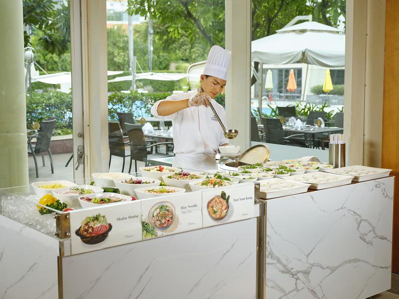 nhà hàng buffet Lotte Legend Sài Gòn