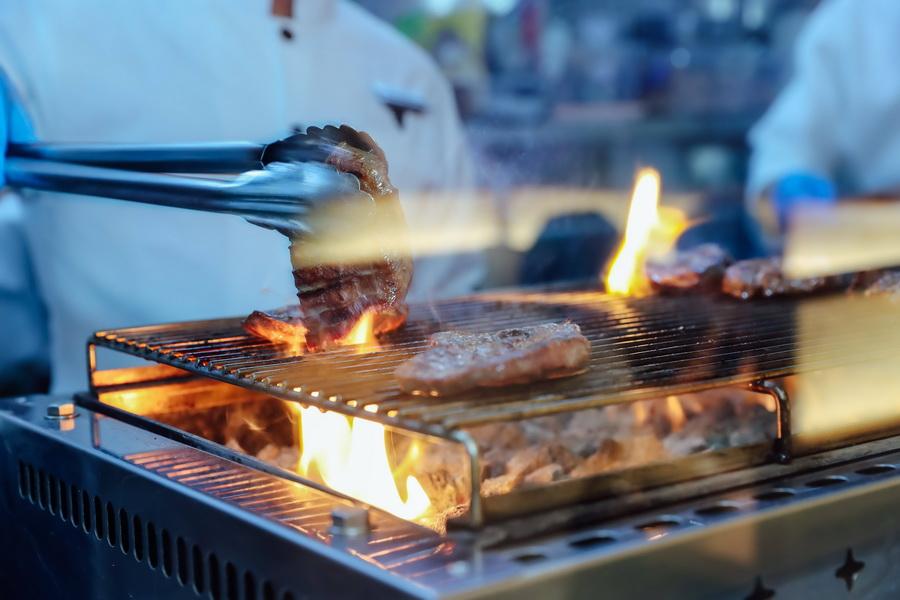 món Gyutan steak lưỡi bò nướng