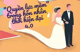 quyền lực mềm trong hôn nhân thời 4.0 của các cặp vợ chồng