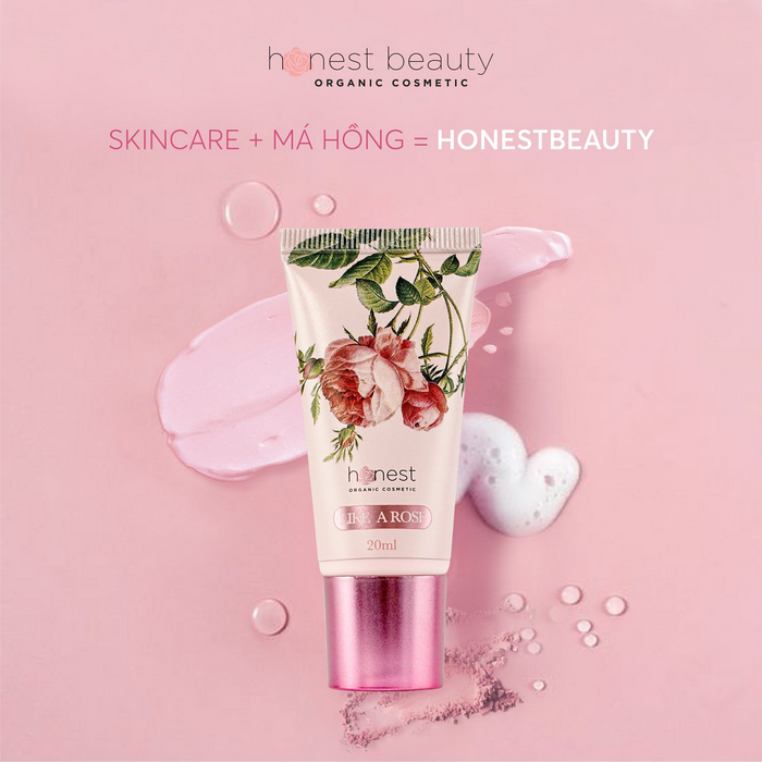 Honest Beauty kem dưỡng má hồng tự nhiên