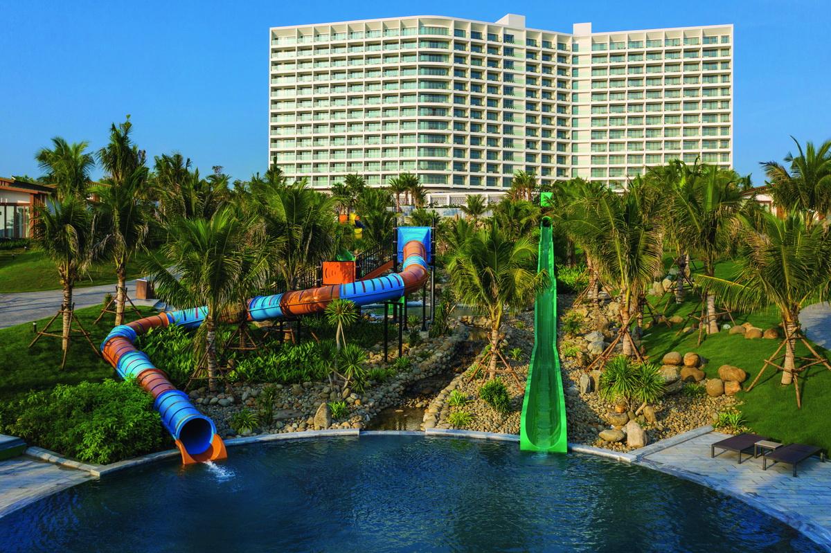 công viên nước trẻ em Cam Ranh