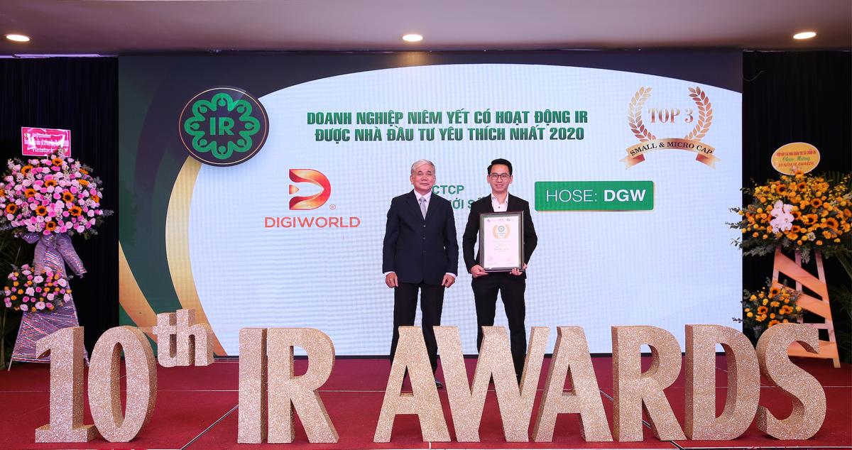 Digiworld nhận giải thưởng hoạt động IR