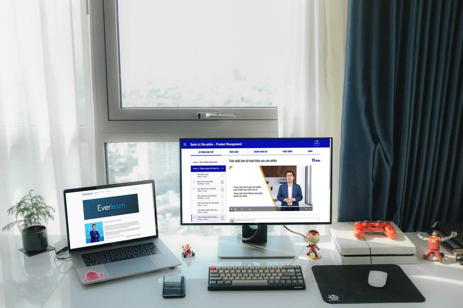 nữ doanh nhân học trực tuyến Everlearn Học viện doanh nhân MVV