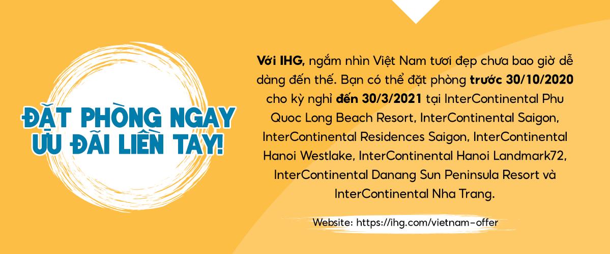 khu nghỉ dưỡng InterContinental IHG ưu đãi