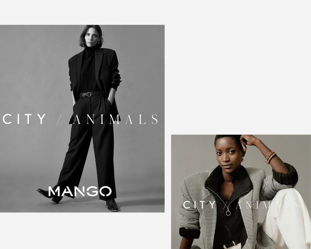 thời trang Thu Đông Mango 2020