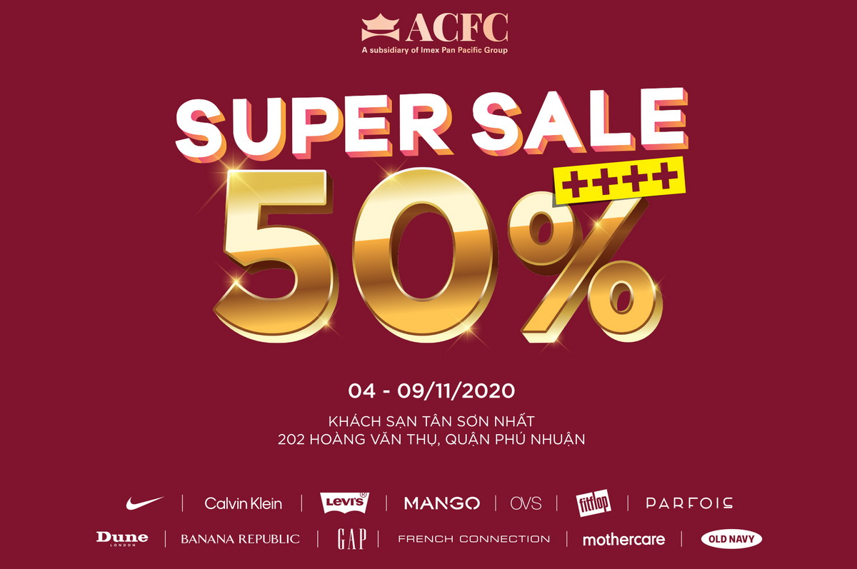 ACFC Super Sale