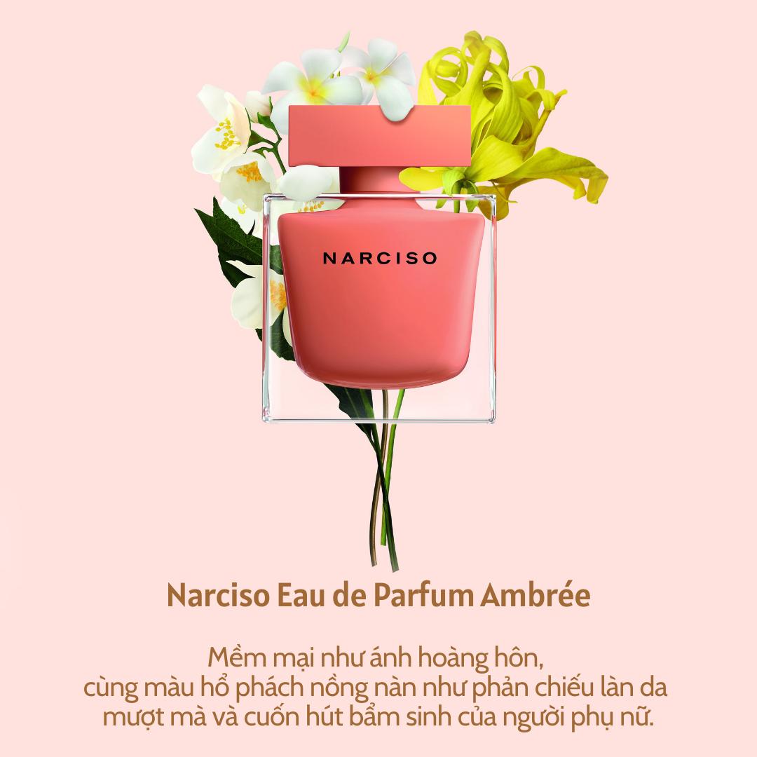 nước hoa Narciso