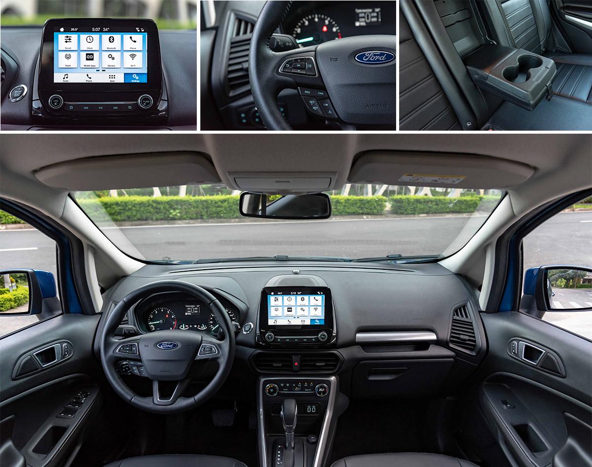 du lịch ngoại ô xe SUV Ford EcoSport
