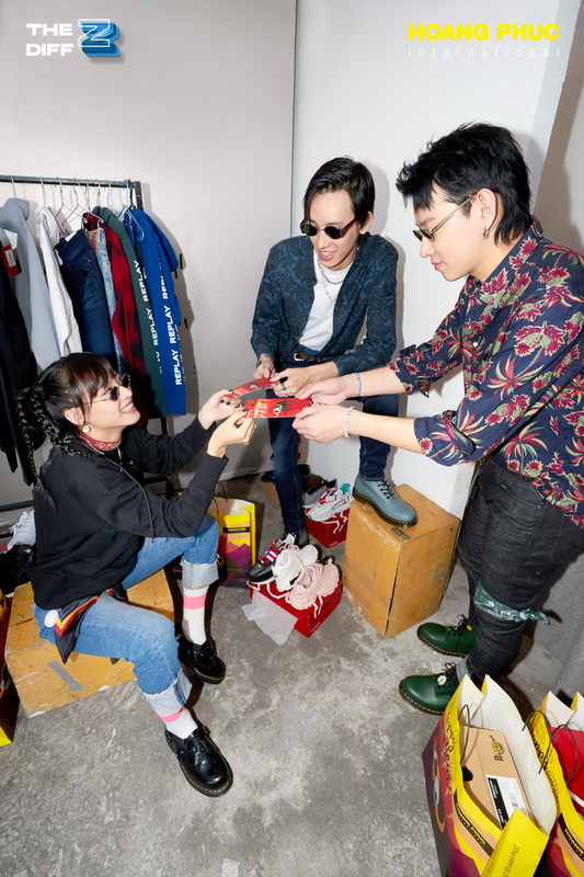 HOANG PHUC International stylist Bao Paul bộ ảnh thời trang The Diff Z