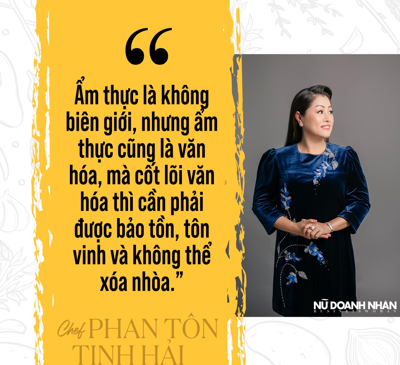 tạp chí Nữ Doanh Nhân phỏng vấn độc quyền nghệ nhân ẩm thực Phan tôn tịnh hải