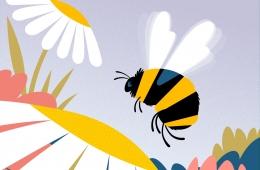 sống chăm chỉ như con ong