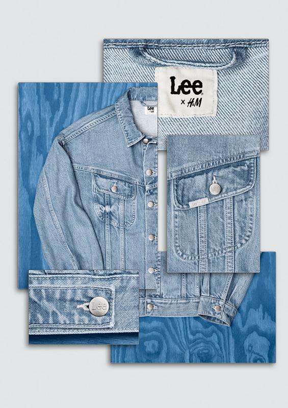 bst denim Lee x H&M bền vững mới