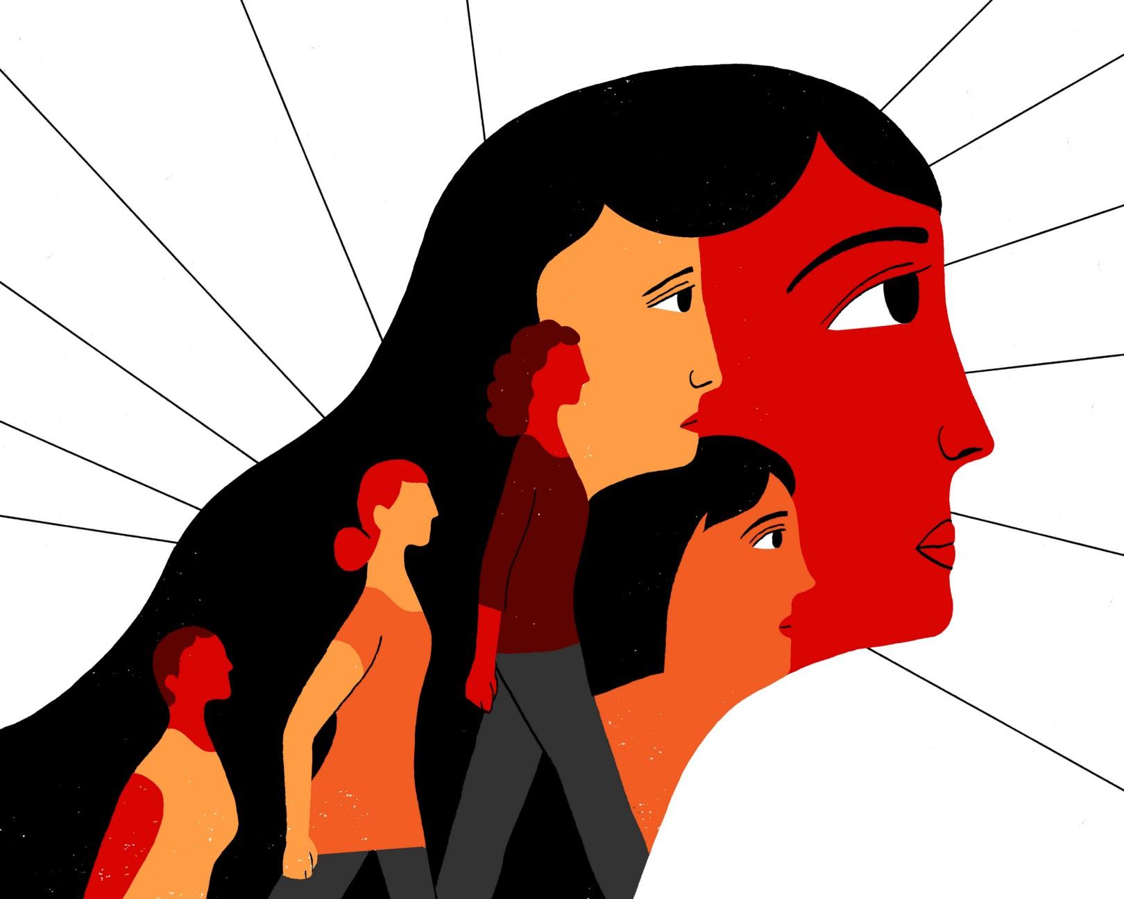 phụ nữ trong khủng hoảng