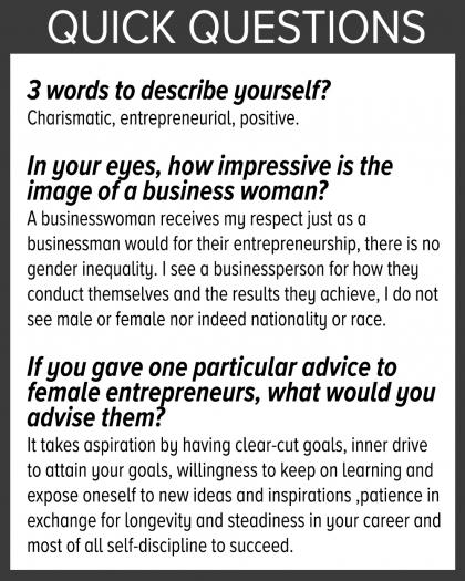 phỏng vấn tạp chí nữ doanh nhân