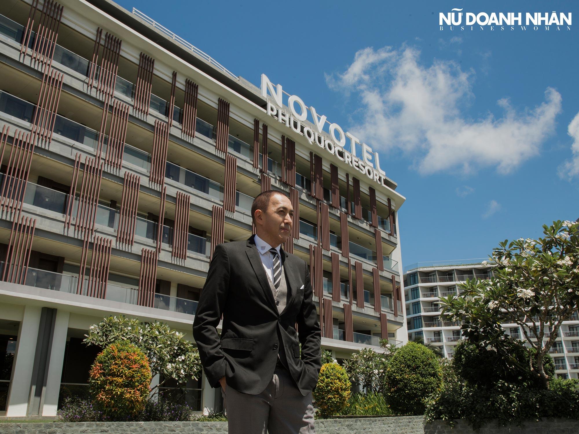 phỏng vấn tổng quản lý novotel phu quoc resort