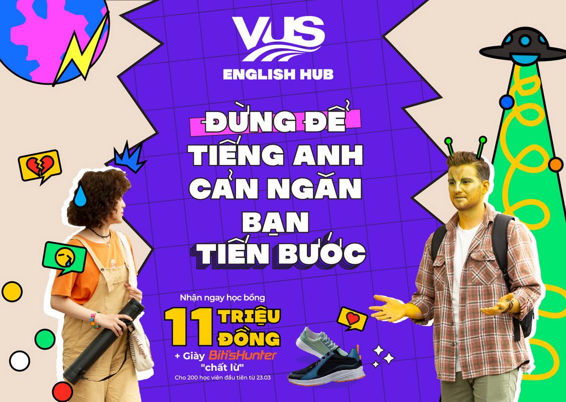 khóa học tiếng anh VUS English Hub cho Gen Z