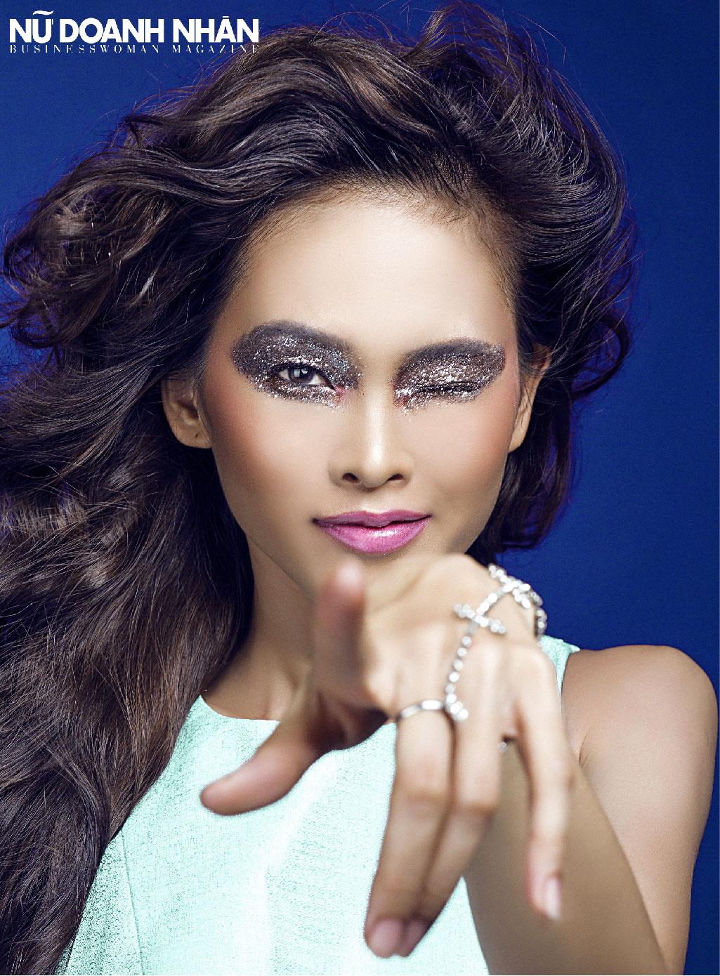 bộ ảnh beauty độc quyền của tạp chí nữ doanh nhân