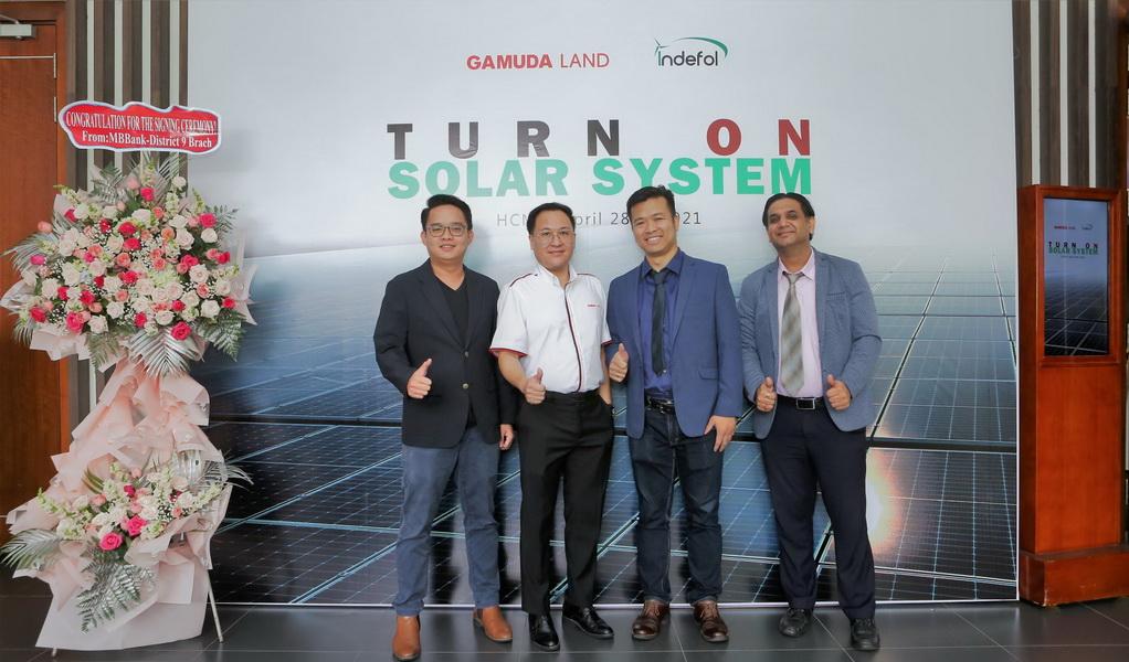 Gamuda Land ứng dụng năng lượng mặt trời vào khu đô thị Celadon City