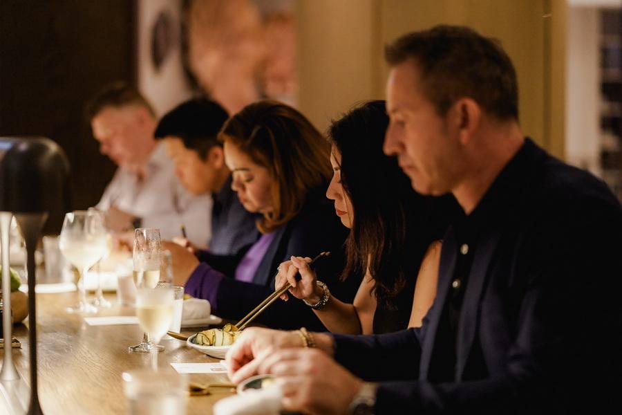 sự kiện ẩm thực Chef's Table New World Sài Gòn nhà hàng Black vinegar