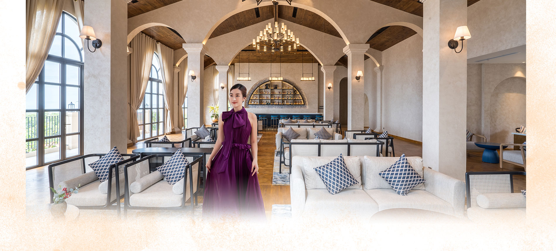Hoa hậu Đỗ Mỹ Linh đầu tư MUA bất động sản biệt thự nghỉ dưỡng NovaHills Mui Ne Resort & Villas