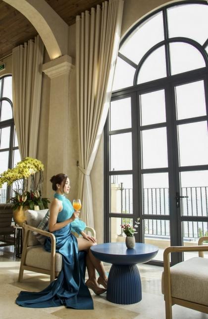 Hoa hậu Đỗ Mỹ Linh đầu tư bất động sản biệt thự nghỉ dưỡng NovaHills Mui Ne Resort & Villas