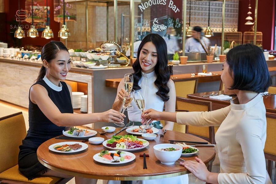 lễ hội ẩm thực ưu đãi hấp dẫn eat out with Marriott Bonvoy
