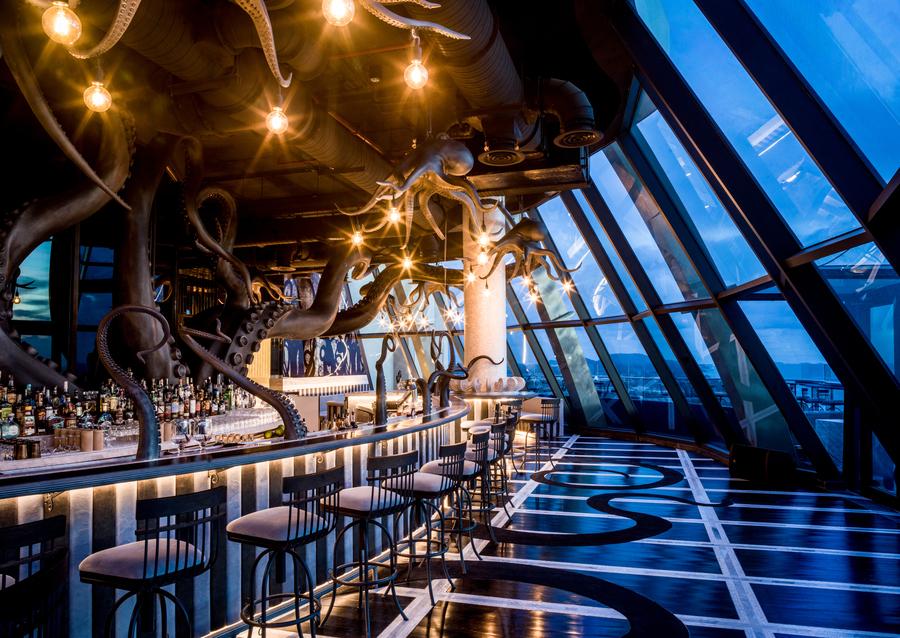bar tầng thượng ink 360 tại intercontinental phu quoc long beach