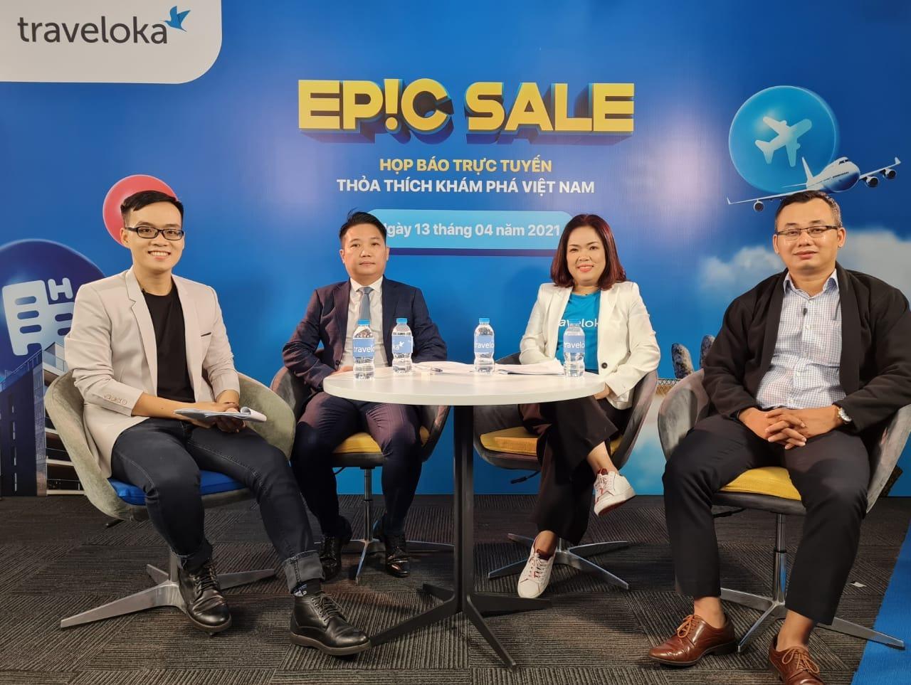 Chương trình Traveloka EPIC Sale