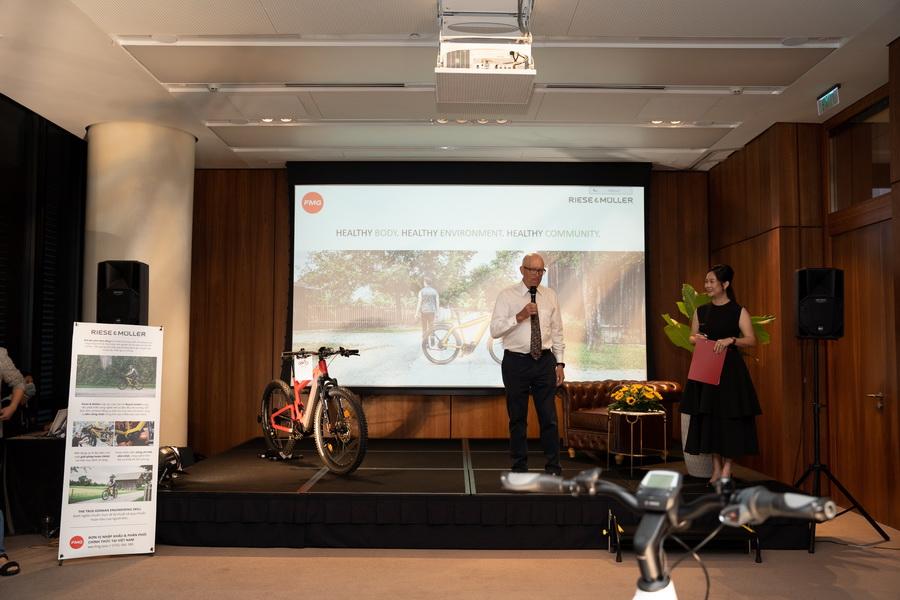 Riese Muller Xe đạp điện cao cấp thông minh Đức FMG phân phối