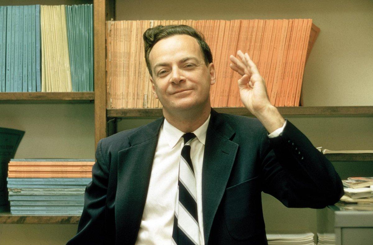 nhà vật lý thiên tài Richard Feynman đã truyền cảm hứng cho tỷ phú ELon Musk