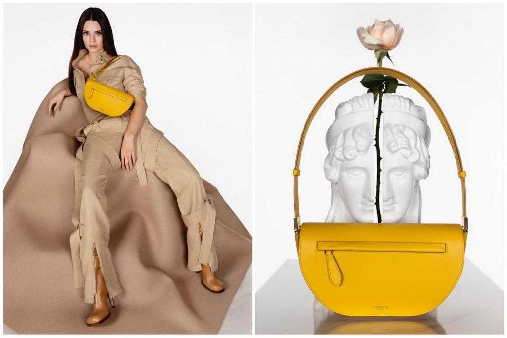 Burberry ra mắt mẫu túi Olympia mới biểu trưng cho sự tinh giản tân kỳ