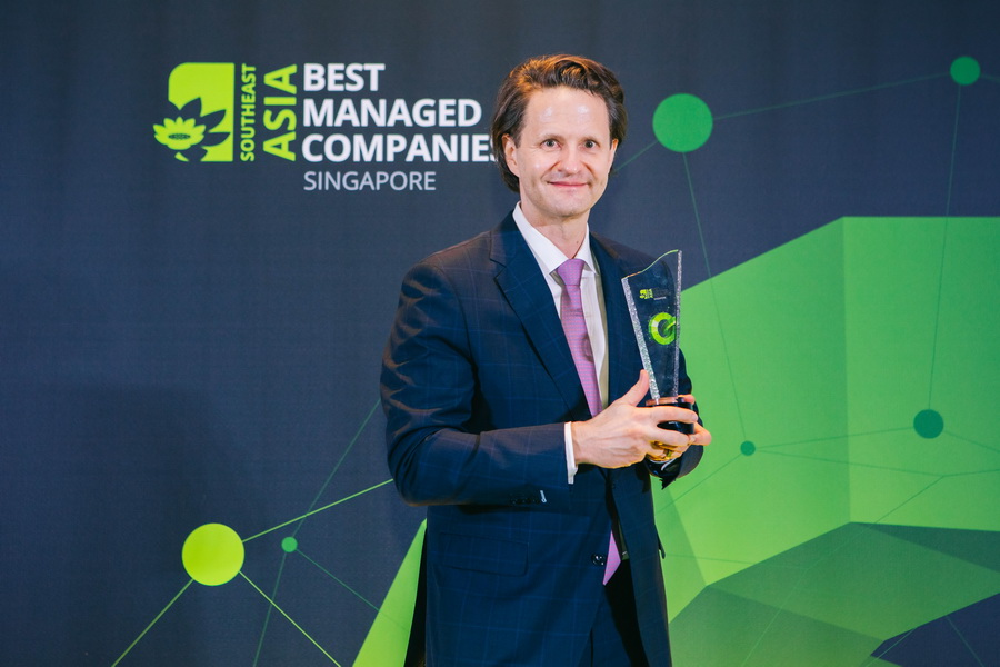Tập đoàn Luxasia được Deloitte trao giải Singapore's Best Managed Companies