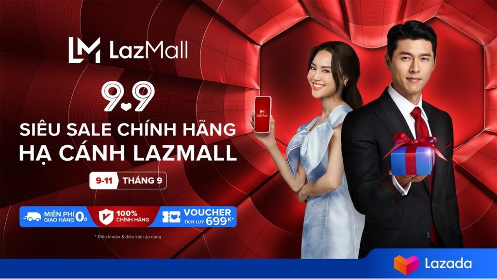 Lazada công bố tài tử Hyun Bin trở thành đại sứ khu vực của Lazmall