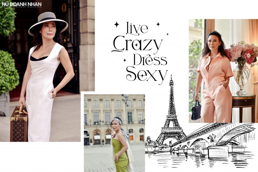 """Nhà mốt Mr. Crazy & Lady Sexy ra mắt BST Seasonless mang tinh thần """"Live Crazy, Dress Sexy"""""""