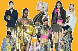 Versace và Fendi - BST Fendace - ái bắt tay của những huyền thoại