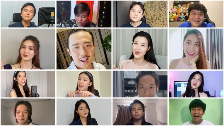Lazada nghệ sĩ chống dịch Không sao mà Việt Nam ơi