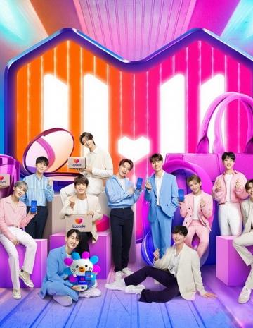Seventeen Đại sứ thương hiệu Lazada Đông Nam Á lễ hội mua sắm 11.11 Supershow